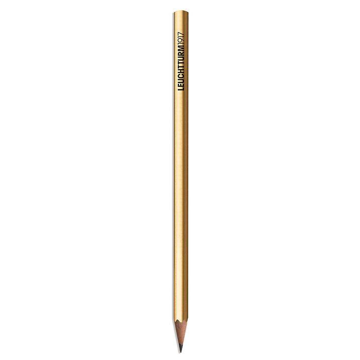 Bleistift HB, LEUCHTTURM1917, Gold