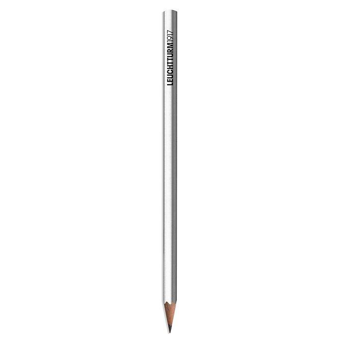 Bleistift HB, LEUCHTTURM1917, Silber
