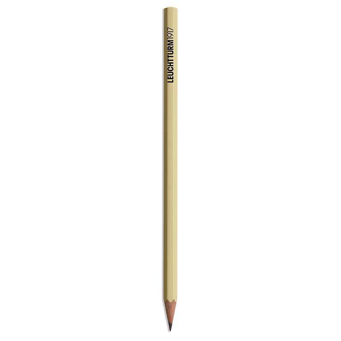 Bleistift HB, LEUCHTTURM1917,  Sand