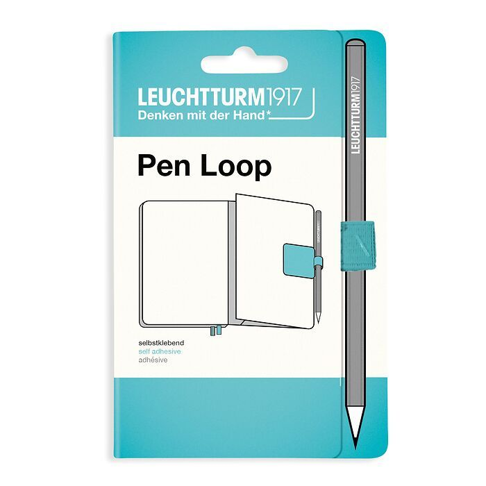 Pen Loop (Stiftschlaufe), Aquamarine