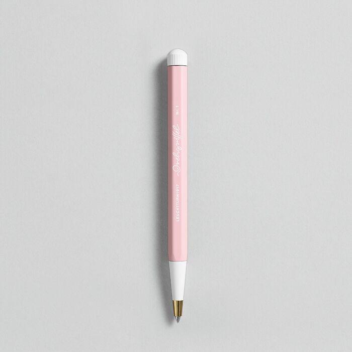 Drehgriffel Nr. 1, Puder - Gelstift mit schwarzer Tinte