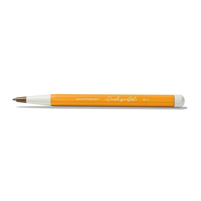 Drehgriffel Nr. 1, Rising Sun - Kugelschreiber mit blauer Mine