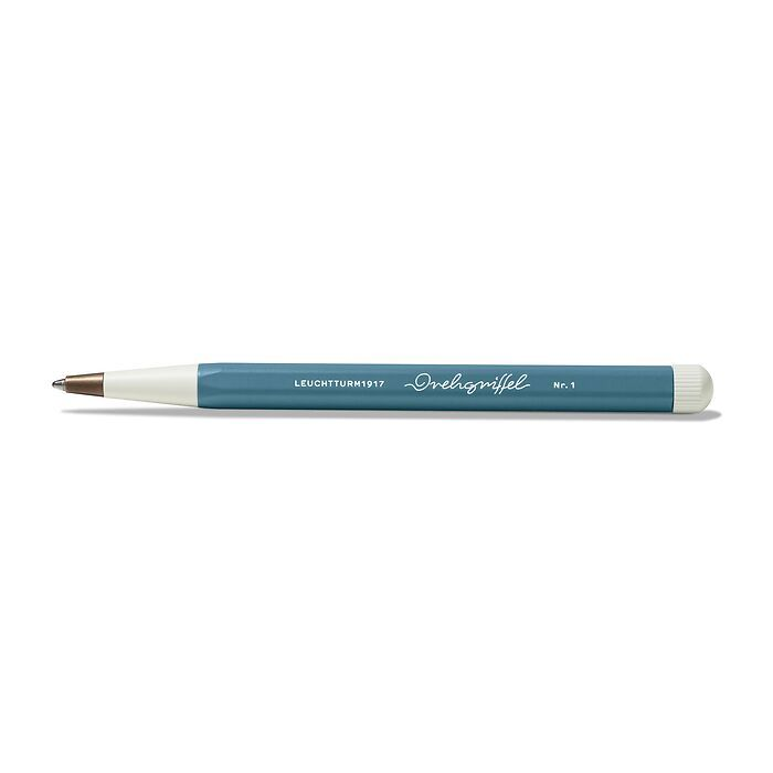 Drehgriffel Nr. 1, Stone Blue - Kugelschreiber mit blauer Mine