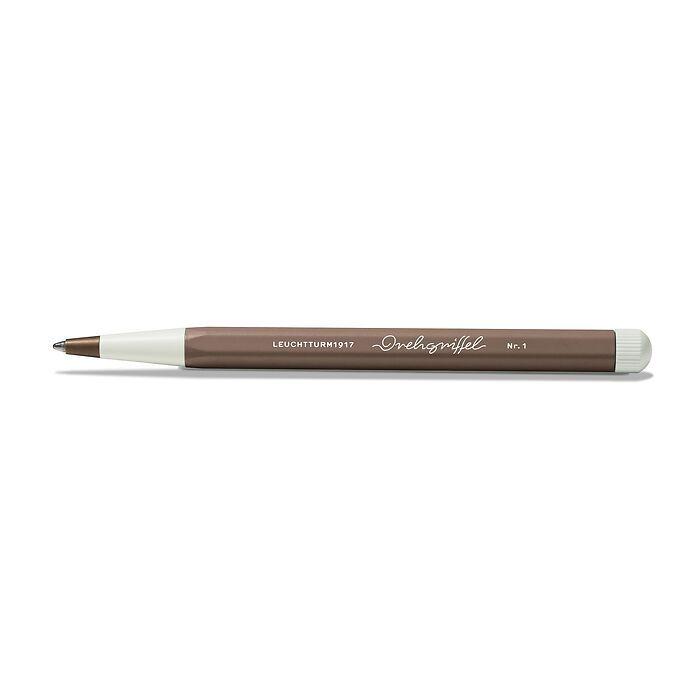 Drehgriffel Nr. 1, Warm Earth - Kugelschreiber mit blauer Mine