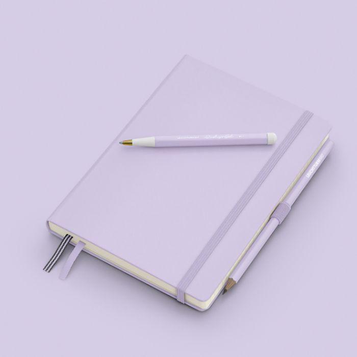 Drehgriffel Nr. 1, Lilac - Kugelschreiber mit blauer Mine