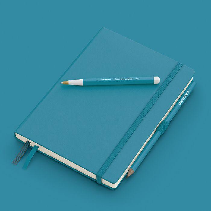 Drehgriffel Nr. 1, Ocean - Kugelschreiber mit blauer Mine