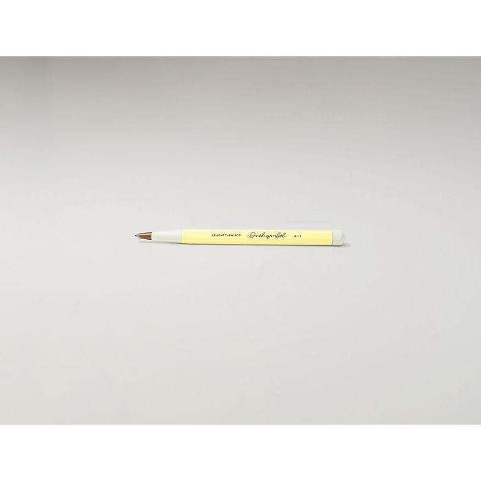 Drehgriffel Nr. 1, Vanilla - Gelstift mit schwarzer Tinte