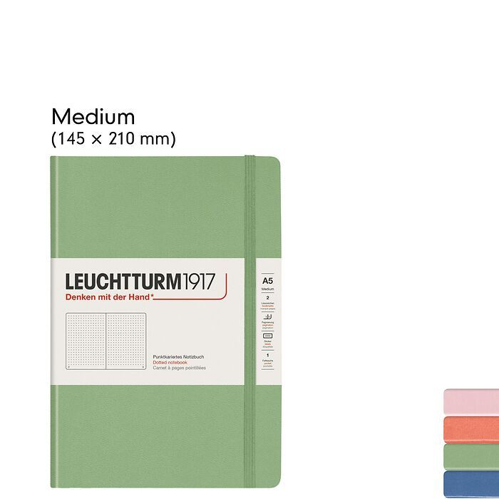 Muted Colours – Notizbücher Hardcover